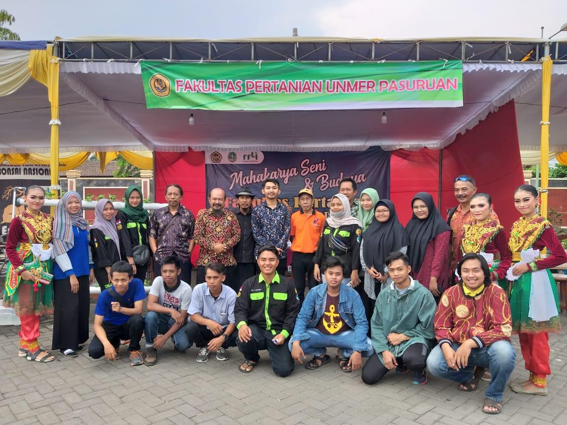 """Pameran """"Mahakarya Seni & Budaya"""" Fakultas Pertanian 2019"""