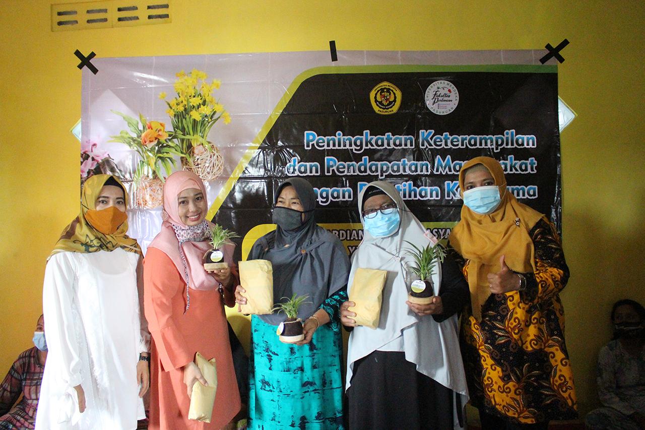 Fakultas Pertanian Mengabdi di Puspo